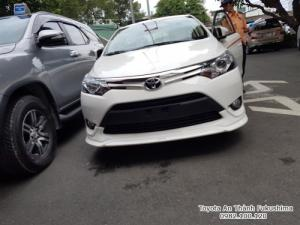 Ưu đãi Toyota Vios 1.5G TRD 2017 Số Tự Động màu Trắng. Nhận Xe Chỉ Cần 100Tr. Trả 9,7tr/tháng Trong 7 Năm