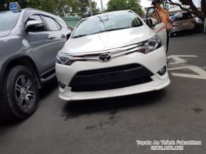 Ưu đãi Toyota Vios 1.5G TRD 2018 Số Tự Động màu Trắng. Nhận Xe Chỉ Cần 100Tr. Trả 10,6tr/tháng Trong 7 Năm