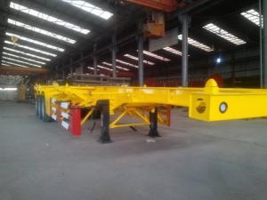 Sơ mi rơ moóc tải (chở container),Xương 3 trục,12m4,33.5 tấn(DOOSUNG DV-CSKS-200D)