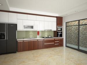 Một không gian hoàn hảo khi có được bộ tủ bếp trong ngôi nhà bạn