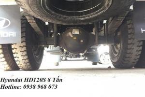 Khuyến mãi trước bạ xe các dòng xe  hyundai Đô Thành - Xe HD120s 8 tấn khuyến mãi trước bạ