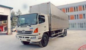 Chuyên bán Xe tải Thùng Kín Hino fl8jtsl Tải trọng cao sản xuất 2017