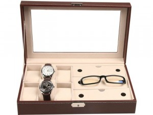 Hộp đựng đồng hồ+ kính