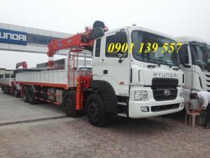 Hyundai HD320 gắn cẩu kanglim 10 tấn 5 khúc hỗ trợ vay vốn.