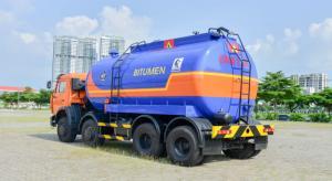 Xe bồn nhựa đường KAMAZ 6540 (8x4) 17,2 m3