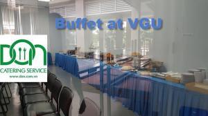 Nhận đặt tiệc buffet, finger food, tea break, cocktail, set menu cho các sự kiện công ty & gia đình