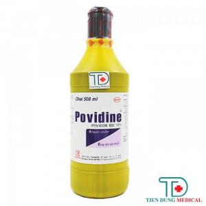 Dung Dịch Sát Khuẩn Povidine 10% (500ml)