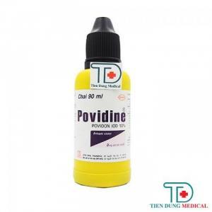Dung Dịch Sát Khuẩn Povidine 10% (90ml)