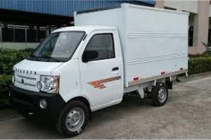 Bán xe Dongben DB1021 770kg thùng mui kín