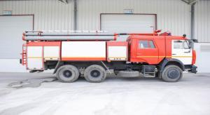 Xe cứu hỏa Kamaz 65115- nhập khẩu từ CHLB Nga