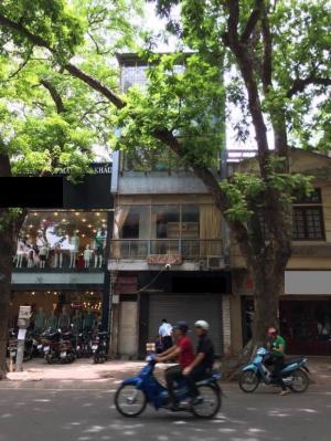 Bán nhà mặt phố Phan Đình Phùng Ba Đình, sổ đỏ chính chủ, 118m2 4 tầng mt 5m 58,5 tỷ