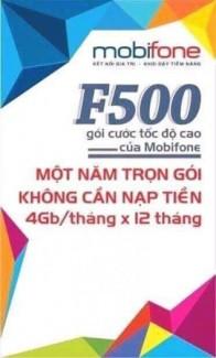 Sim 4G f500 48BG sử dụng miễn phí 1 năm