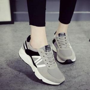 Giày sneaker xám