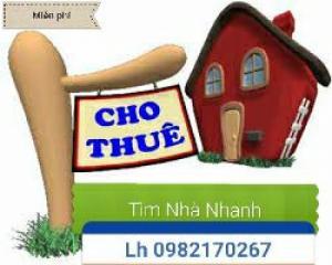 Tìm nhà nhanh tại Lê Hồng phong,Văn Cao,Vincom ( Miễn Phí)