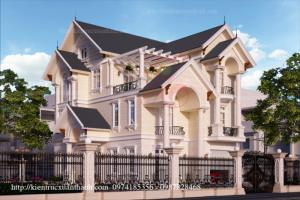 Thiết kế biệt thự đẹp - chất lượng tại Hà Nội