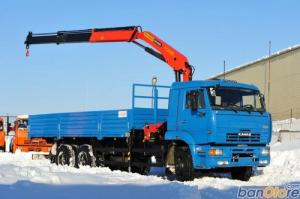 Xe cẩu kamaz 24 tấn