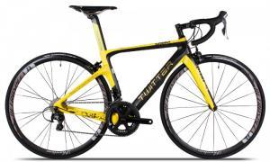 Xe đạp đua Twitter Cobra 2017, mới 100%, miễn phí giao hàng, màu Đen vàng