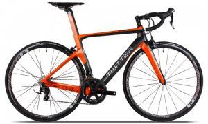 Xe đạp đua Twitter Cobra 2017, mới 100%, miễn phí giao hàng, màu Đen cam