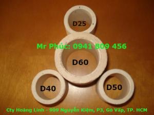 Vòng sứ raschig, đệm ceramic xử lý khí thải