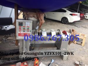 Máy ép dầu công nghiệp Guangxin YZYX10J-2WK chính hãng,giá tốt nhất thị trường.