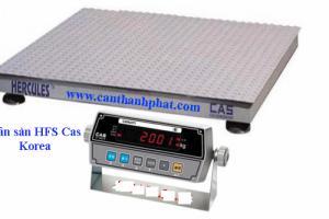 Cân sàn 5 tấn HFS 1.5 x1.5m CAS, Cân sàn 5 tấn chính hãng CAS nhập khẩu Hàn Quốc