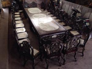 Bộ bàn ghế hội họp khủng víp - Liên hệ để có giá tốt nhất