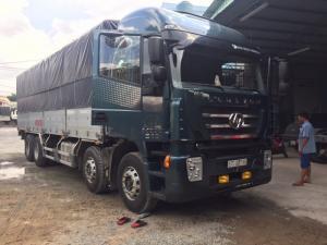 Xe tải thùng bốn chân iveco HongYan