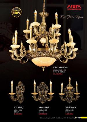 Catalogue Hufa Lighting 2018, hufaled mới nhất 2019