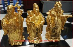 Tượng Phật Tam Đa Dát Vàng Cao 35Cm Thờ Cúng