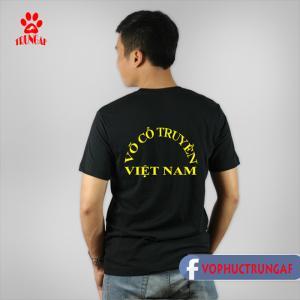 Áo thun võ cổ truyền Việt Nam