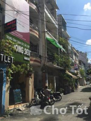 Bán nhà MT Quận 3, đường Nguyễn Sơn Hà, Cao Thắng, DT: 3,2x17m nở hậu 4,6m