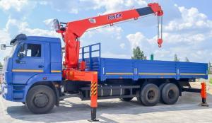 Xe Tải Cẩu Kamaz 65117 (6X4) Giá Rẻ