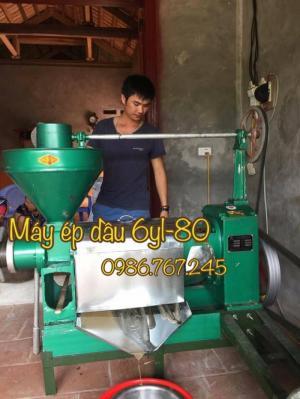 Máy ép dầu thực vật 6yl - 110