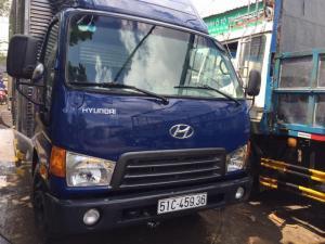 Hyundai hd 65 thùng kín hạ tải vào thành phố