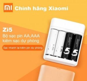 Bộ sạc pin AA,AAA Xiaomi kiêm sạc dự phòng là một sản phẩm tiện dụng có thể sử dụng để sạc pin tiểu và có thể trở thành xạc dự phòng khi bạn cần.