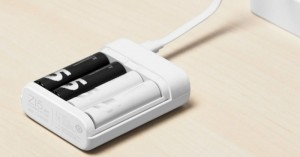 Bộ sạc pin AA,AAA Xiaomi là đốc sạc pin tiểu AA hoặc AAA của hãng Xiaomi, đồng thời sản phẩm này còn có thể dùng làm pin dự phòng với thời gian nhanh và tiện dụng.