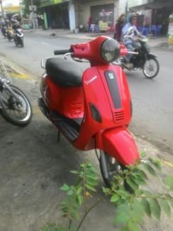 Vespa lx 125cc liên doanh HQ cc màu đỏ còn...