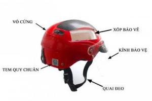 Quy trình sản xuất nón bảo hiểm quảng cáo