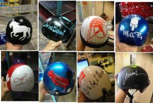 Đặt mũ bảo hiểm theo yêu cầu, in logo lên mũ bảo hiểm theo yêu cầu