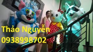May mascot giá rẻ, mascot Doremon giá rẻ