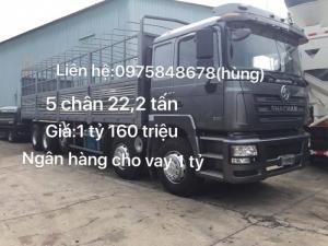 Xe tải shacman tải trọng cao giá rẻ nhất thị...