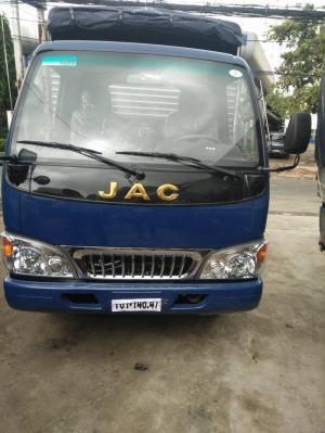 Thanh lý xe Jac 4t9, thùng dài 5m3, trả góp cao 95%