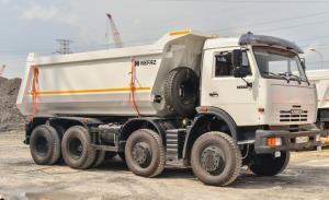 Xe Ben Kamaz 6540(8X4), Thùng 15M3