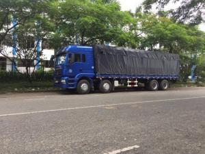 Xe tải thùng 4 chân shacman