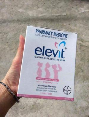 Elevit - Vitamin Tổng Hợp Cho Bà Bầu Của Úc