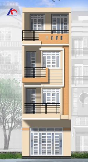 Cho thuê nhà MT Nguyễn Bỉnh Khiêm, Q.1, (DT: 4x16m, trệt, 3.5 lầu). Giá: 55tr/th