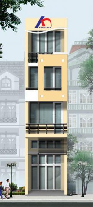 Cho thuê nhà MT Nguyễn Trãi, Q.1, (DT: 5x18m, trệt, 2 lầu). Giá: 4000$/th
