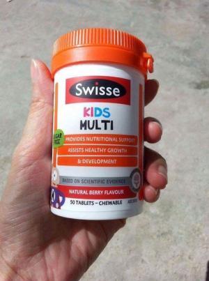 Swisse Kids Multi – Vitamin Tổng Hợp Cho Trẻ Biếng Ăn (50 Viên)