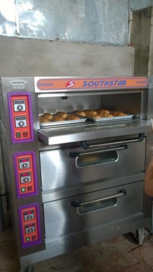 Lò nướng bánh mỳ 3 tầng 6 khay, 3 tầng 9 khay giá tốt nhất hiện nay