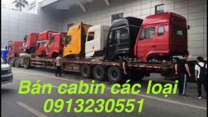 Bán đầu các loại cabin chenglong, howo,...